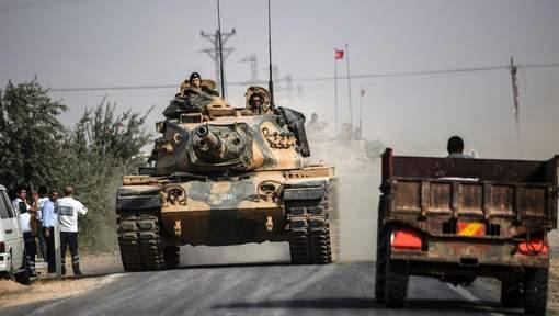 La Turquie envoie dix nouveaux chars en Syrie