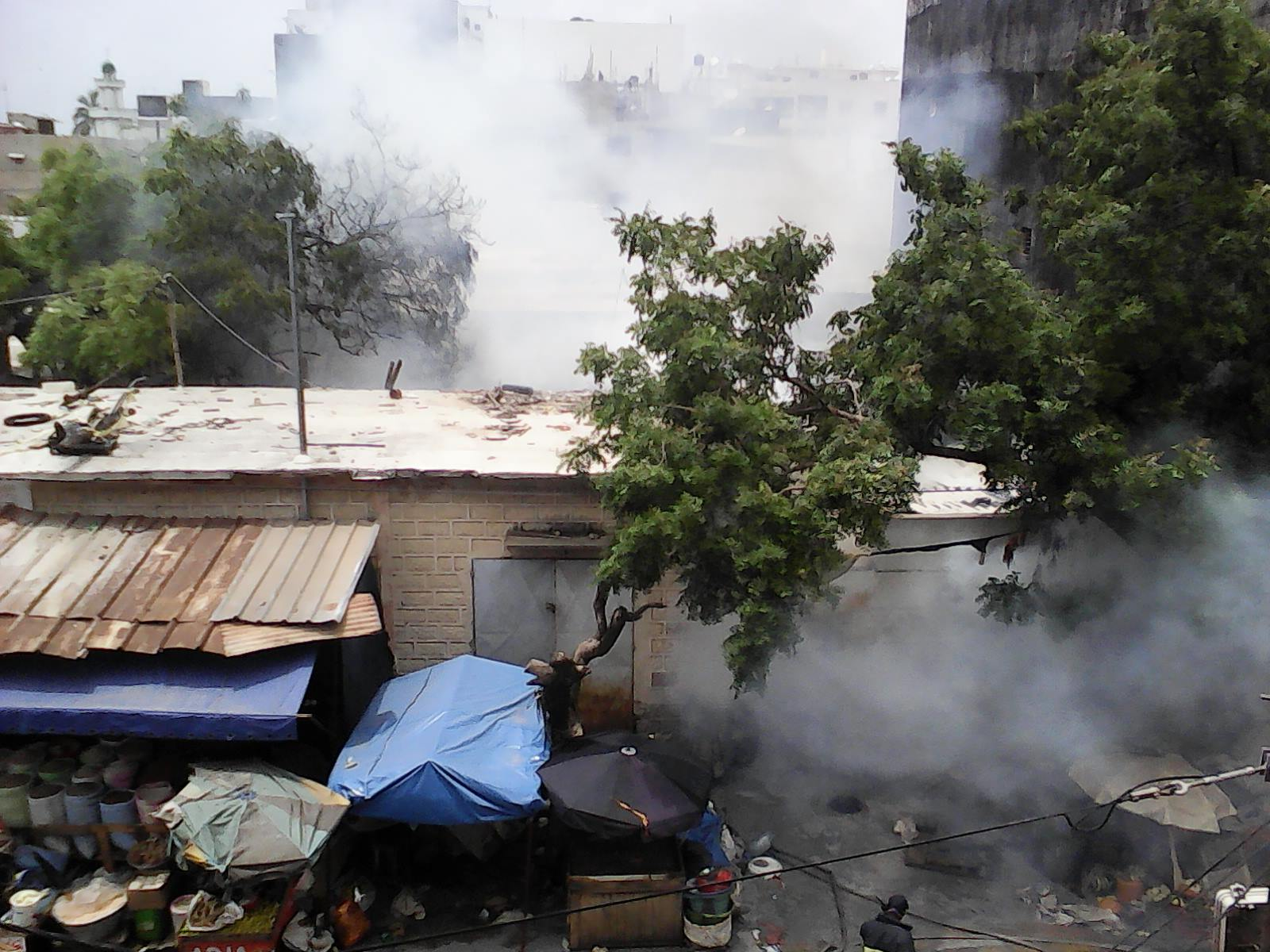 Rue 23 X18 : Un incendie d'une rare violence à la Médina