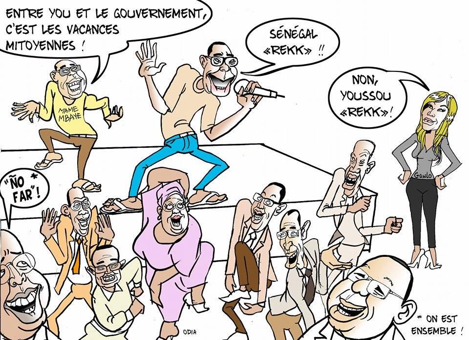Vacances citoyennes: Sénégal rek walla Youssou rek?.....par Odia