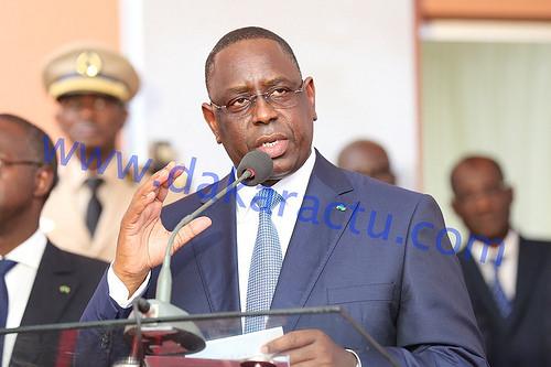Macky Sall pour une modification des législations minières et pétrolières