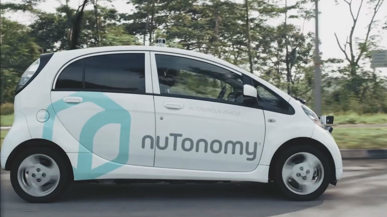 Les premiers taxis sans chauffeur viennent d'être lâchés dans les rues de Singapour