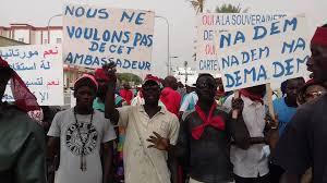 Mauritanie : Manifestation des sénégalais contre leur ambassadeur