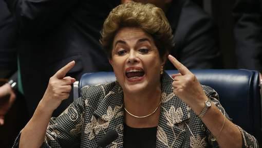 """Dilma Rousseff aux sénateurs brésiliens: """"Votez contre ma destitution"""""""