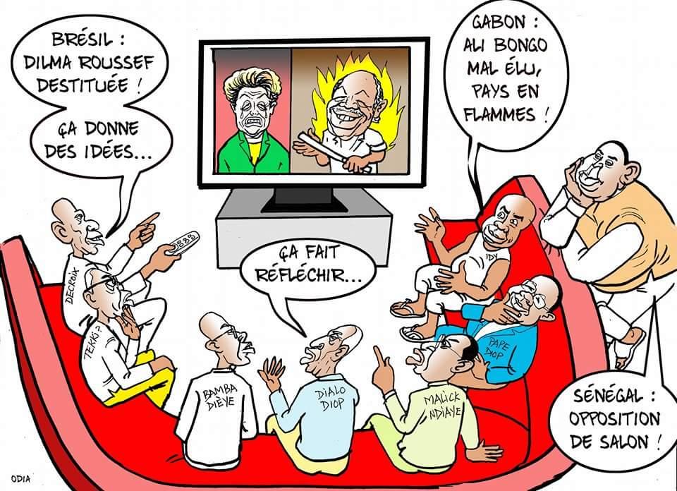 L'Opposition sénégalaise : Une opposition de salon........par Odia
