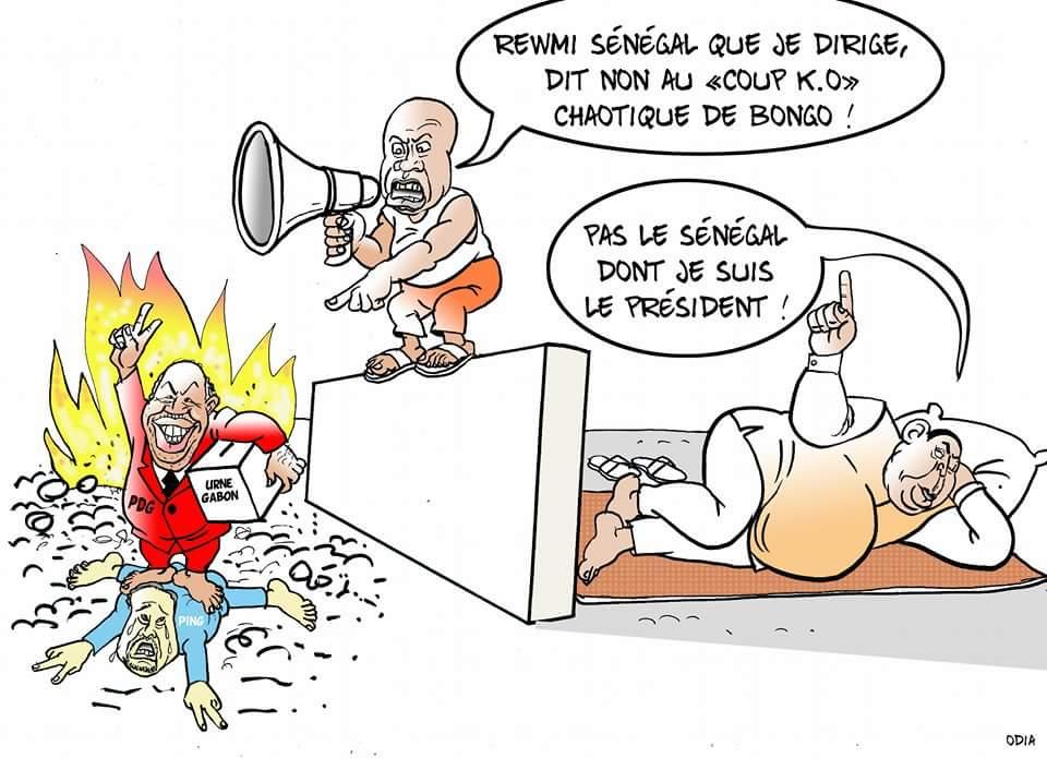 """""""Les Présidents d'Afrique"""", Macky, Idy, Bongo et Ping.....par Odia"""