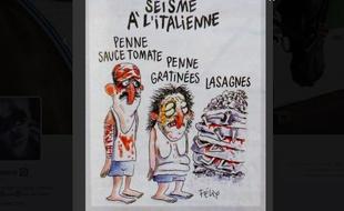 L'Italie n'est plus très «Charlie» après un dessin du journal satirique sur le séisme