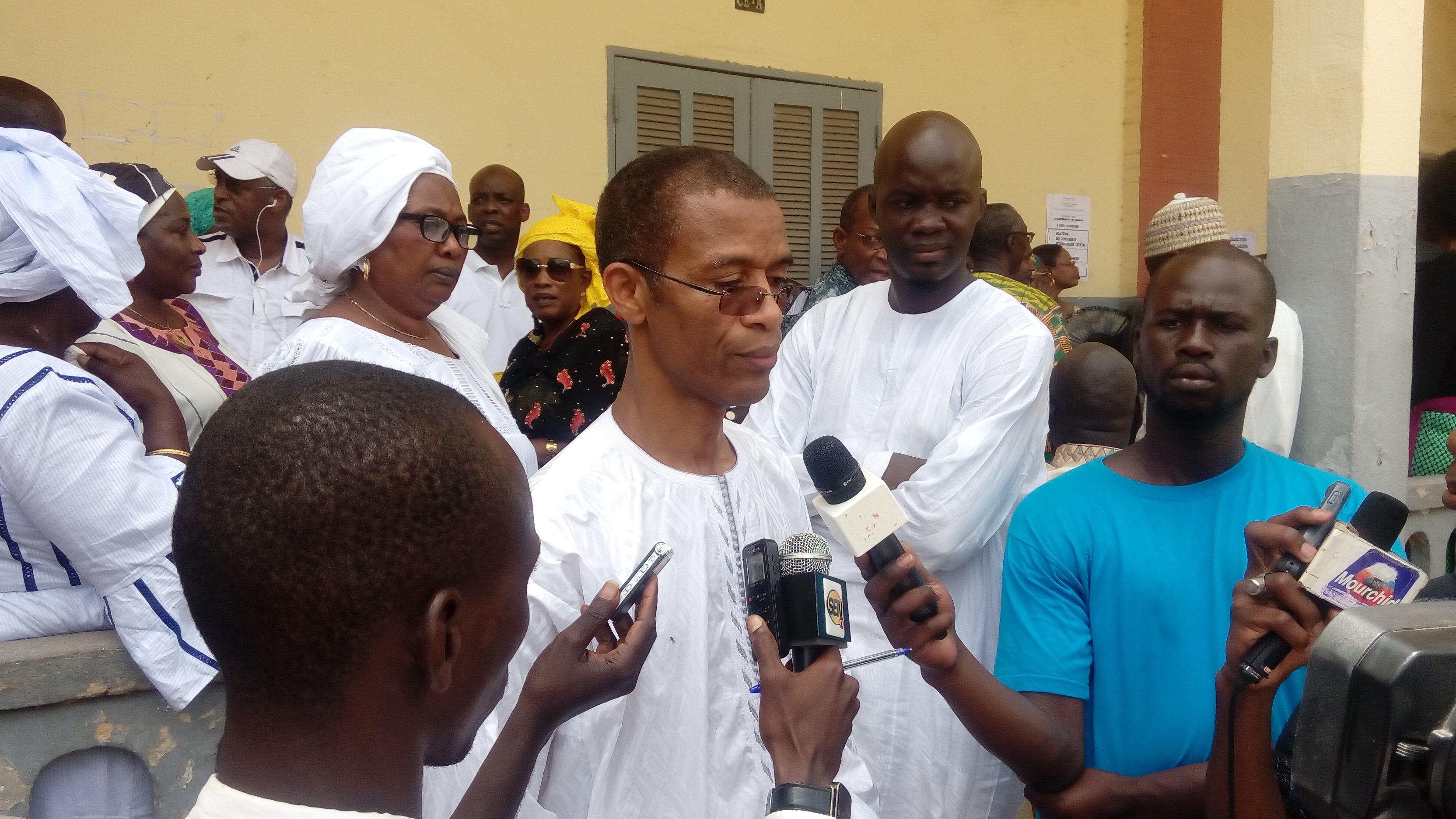 HCCT/DAKAR : Alioune N'doye, maire de Dakar-Plateau regrette la pluralité des listes à Dakar