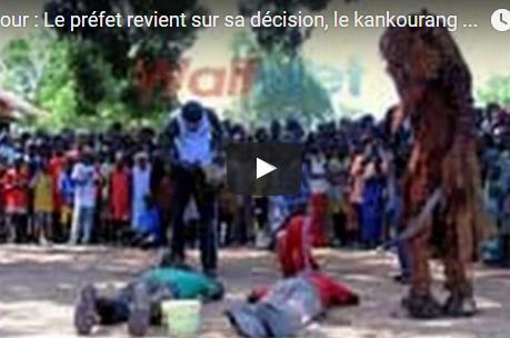 Mbour : Le Kankourang fait quatre blessés, une personne arrêtée