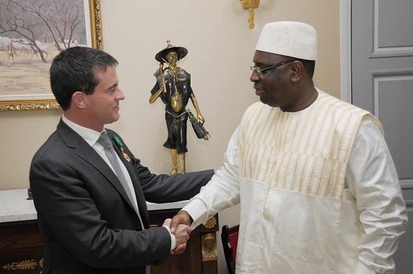 VISITE OFFICIELLE DU PREMIER MINISTRE FRANÇAIS : Manuel Valls à Dakar le 22 septembre