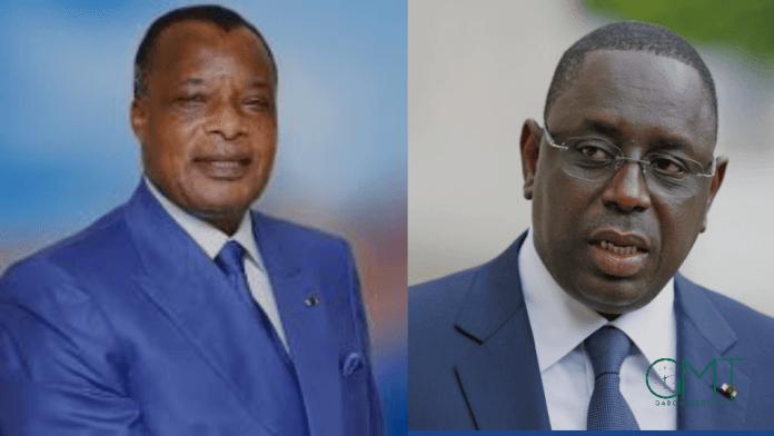 Macky Sall et Denis Sassou Nguesso en médiation à Libreville