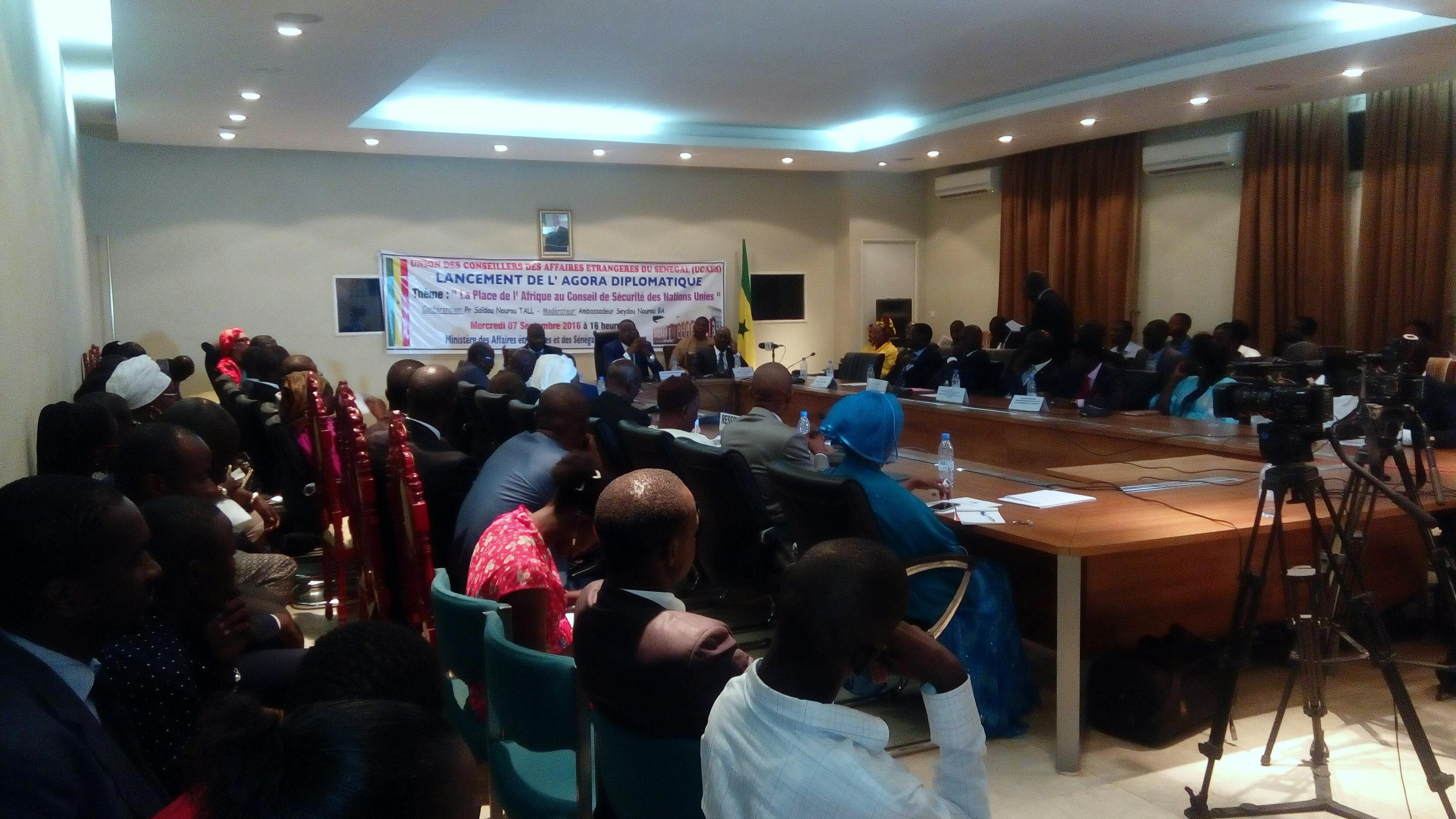 Réforme de la gouvernance mondiale : « L'Afrique doit être présente et considérée et écoutée… » (Professeur Seydou Nourou Tall)