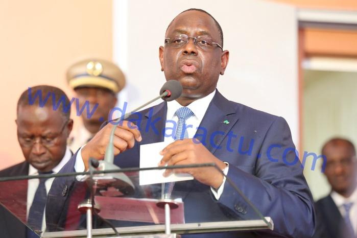 HCCT : Macky Sall demande au Gouvernement de prendre les dispositions pour une bonne installation