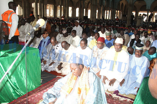 Massalikoul Djinane : la prière de l'Aid sera dirigée par Serigne Moustapha Mbacké