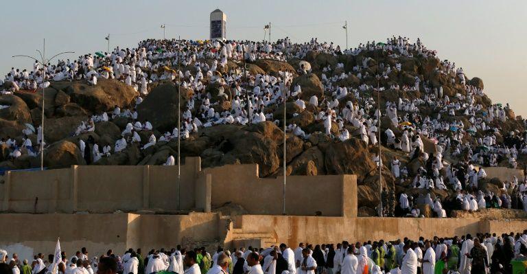 TEMPS FORT DU HAJJ 2016 : Les pèlerins affluent sur le Mont Arafat