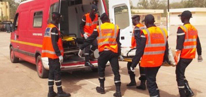 LOUGA : Un accident de la route fait deux morts et quatre blessés à hauteur de Kelle-Guèye
