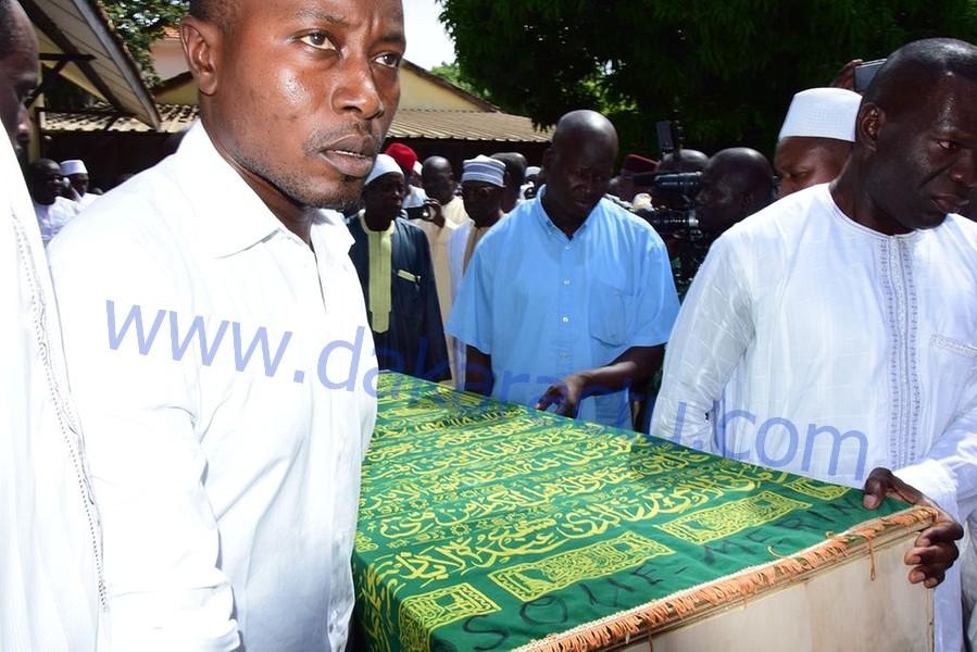 Les images de la levée du corps de Me Mbaye Jacques Diop à l'Hôpital Principal de Dakar