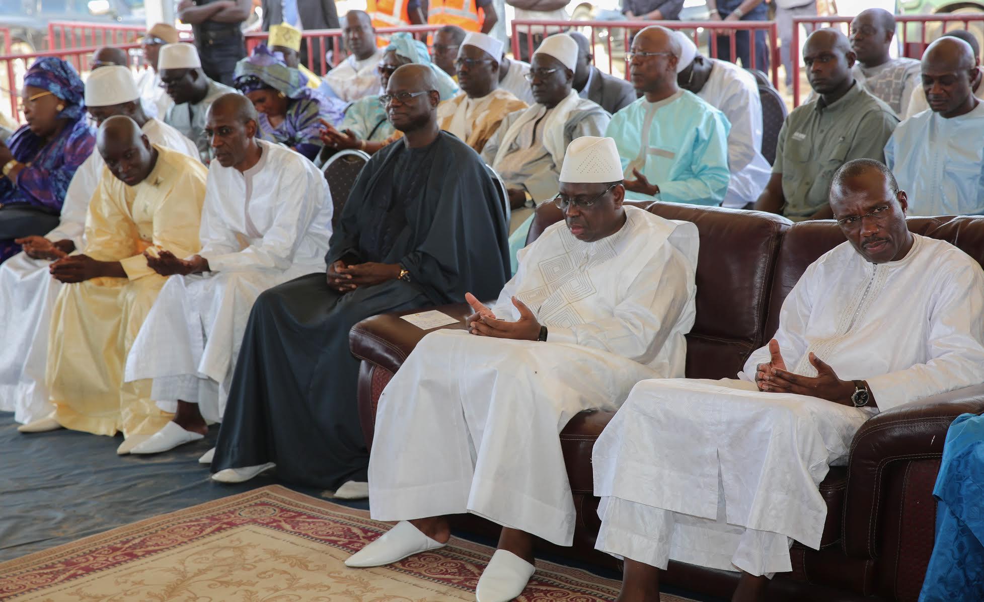 RUFISQUE : Le président Macky Sall a présenté ses condoléances à la famille de Me Mbaye Jacques Diop
