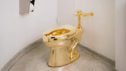 Des toilettes publiques en or au Guggenheim de New York