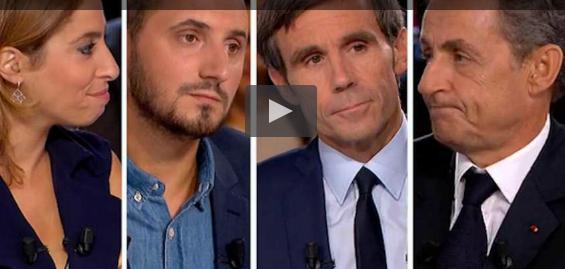 """L'Emission politique"": renvoyé dans les cordes, Nicolas Sarkozy a distribué les uppercuts"