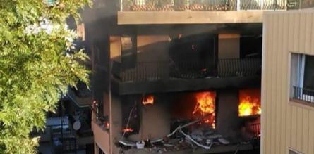 Explosion dans un immeuble près de Barcelone : Un mort et 14 blessés