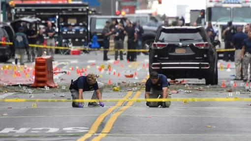 """Explosion à Manhattan : Des bombes """" sans lien avec le terrorisme international """""""