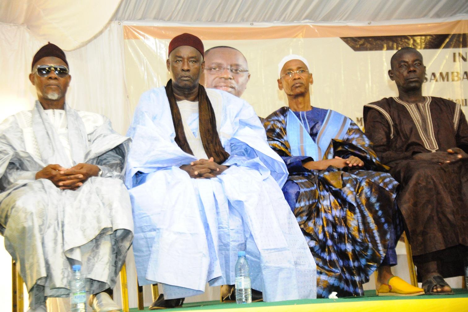 Intronisation : Le DC de cabinet du MEF intronisé Ardo de Goudoudé Diobé