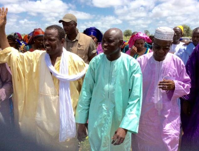 PHOTOS - En tournée politique dans le Djoloff, le Ministre Aly Ngouille Ndiaye remobilise ses troupes