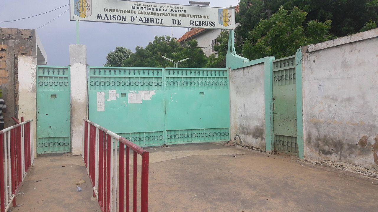 Images de la mutinerie à la prison de Rebeuss