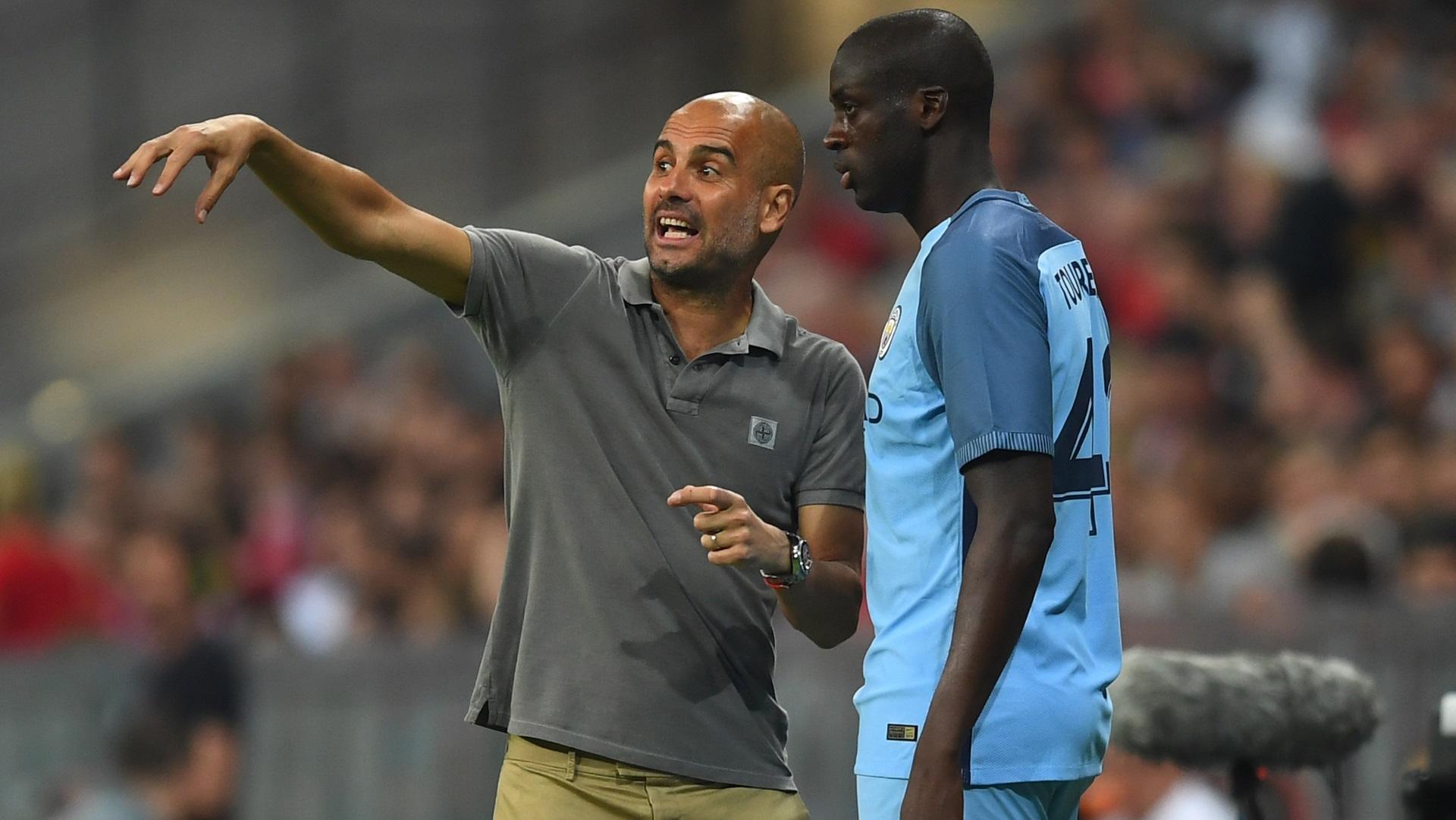 """Pep Guardiola : """"Si Yaya Touré veut rejouer, son agent devra s'excuser"""""""