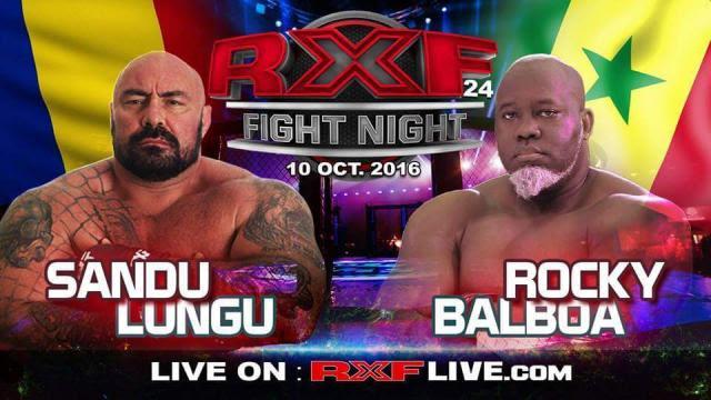 Lutte : Choc de gladiateurs entre le Sénégalais Rocky Balboa et le Roumain Sandu Lundu