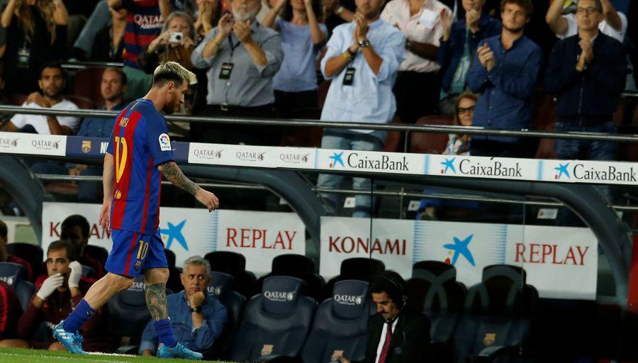 Le Barça va devoir faire sans Leo Messi pendant plusieurs semaines...