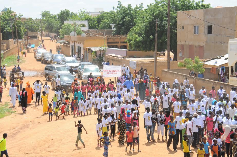 """Le Colonel Birame Wone, ancien aide de camp du Président Senghor à Amy Sarr Fall : """" Vous êtes un signal d'espoir pour la jeunesse de Kanel """""""