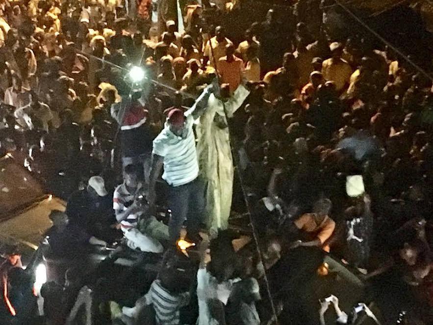 Les images de l'accueil populaire réservé à Abdou Karim Sall à Orkadiéré, son fief natal.
