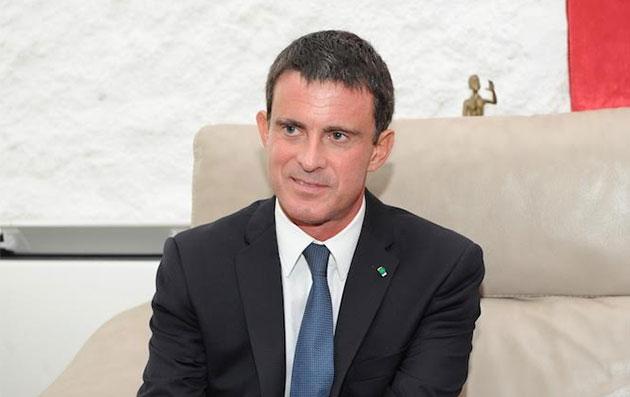 Valls en Afrique pour le financement de la campagne de Hollande en 2017 (Tahirou Sarr)