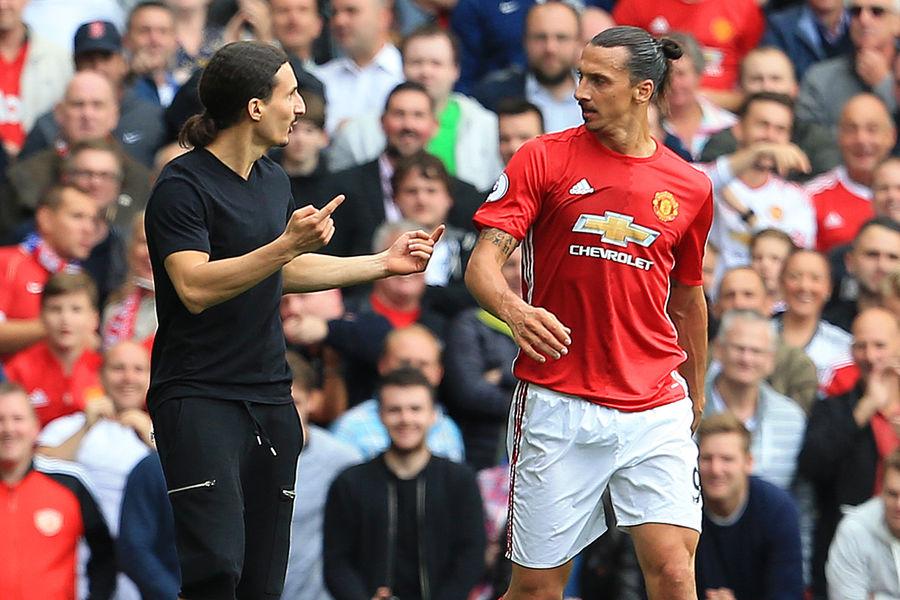 Zlatan Ibrahimovic et son double