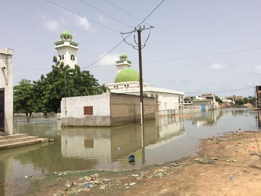 TOUBA - ALERTE MAXIMALE : La mosquée de Serigne Saliou menace ruine à cause des inondations