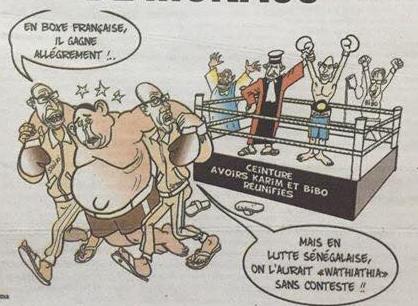 Karim gagne en boxe française après avoir perdu en lutte wathiathia !!!! (par Odia...)