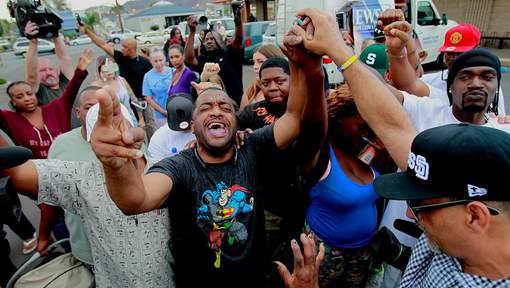 Manifestation en Californie contre la mort d'un homme noir désarmé