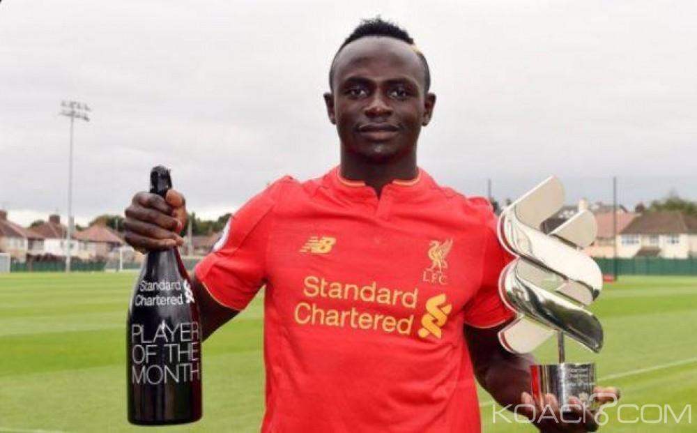 MEILLEUR JOUEUR DE PREMIER LEAGUE EN AOÛT-SEPTEMBRE : Sadio Mané plus fort que Kevin de Bruyne
