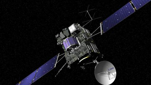 Crash sur la comète Tchouri et fin de mission pour Rosetta