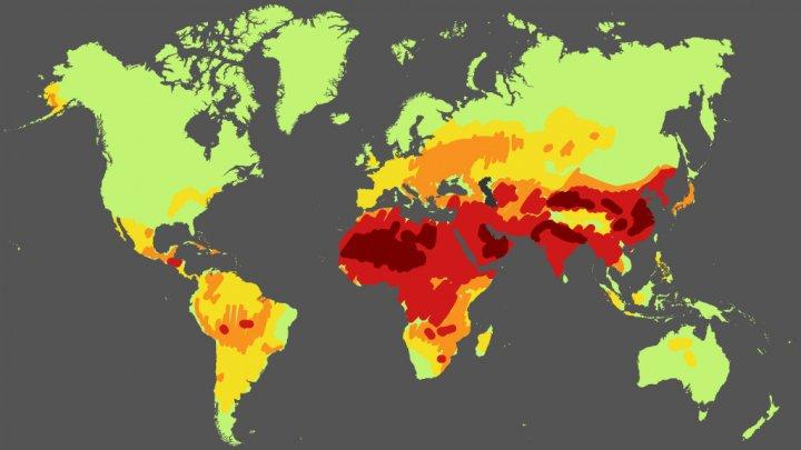 Infographie : 92 % de la population mondiale respire un air trop pollué