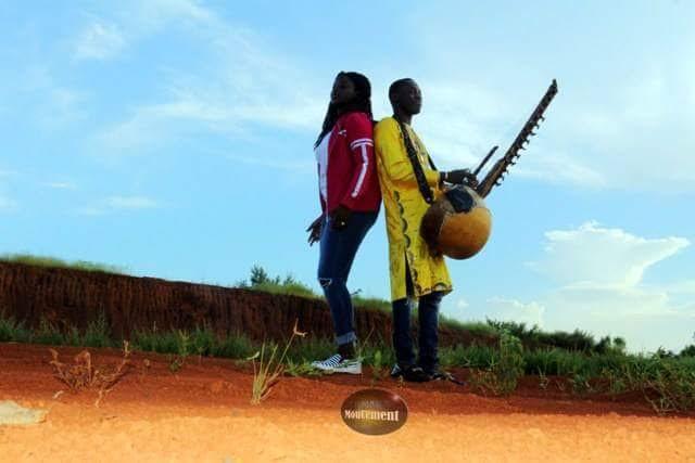 "Après ""DOMZEI"" Abiba en tournage de clip avec SIDIKI DIABATE au MALI"