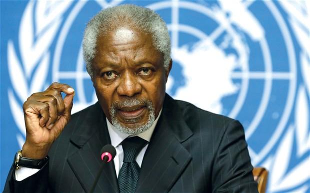 Appel à la médiation de Kofi Annan pour un dialogue politique en RDC