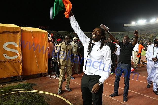 VICTOIRE DES LIONS : Aliou Cissé dit toute sa satisfaction