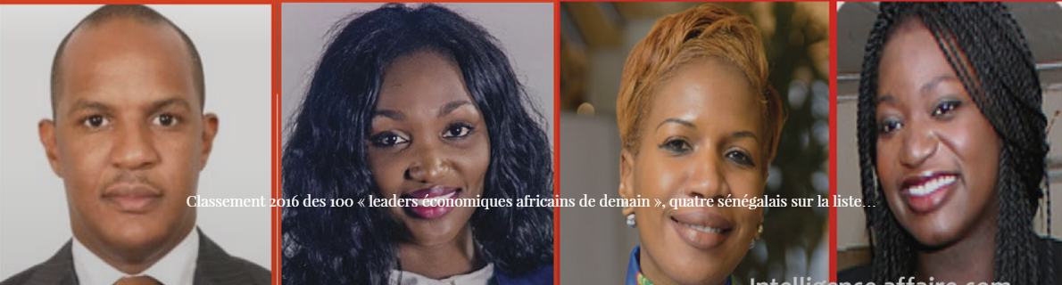 Classement 2016 des 100 « leaders économiques africains de demain », quatre sénégalais sur la liste…