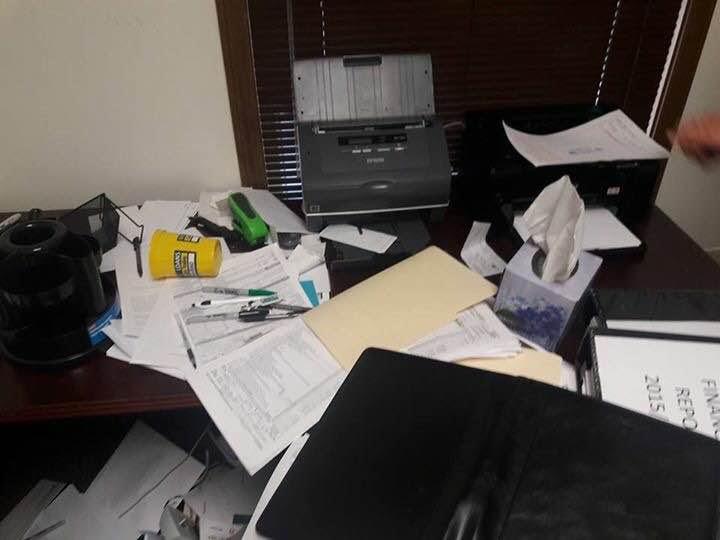 Le bureau de l'Expert Comptable Alioune Guèye qui a traité les rapports financiers de Cosmos Energy, saccagé à Ohio (USA)