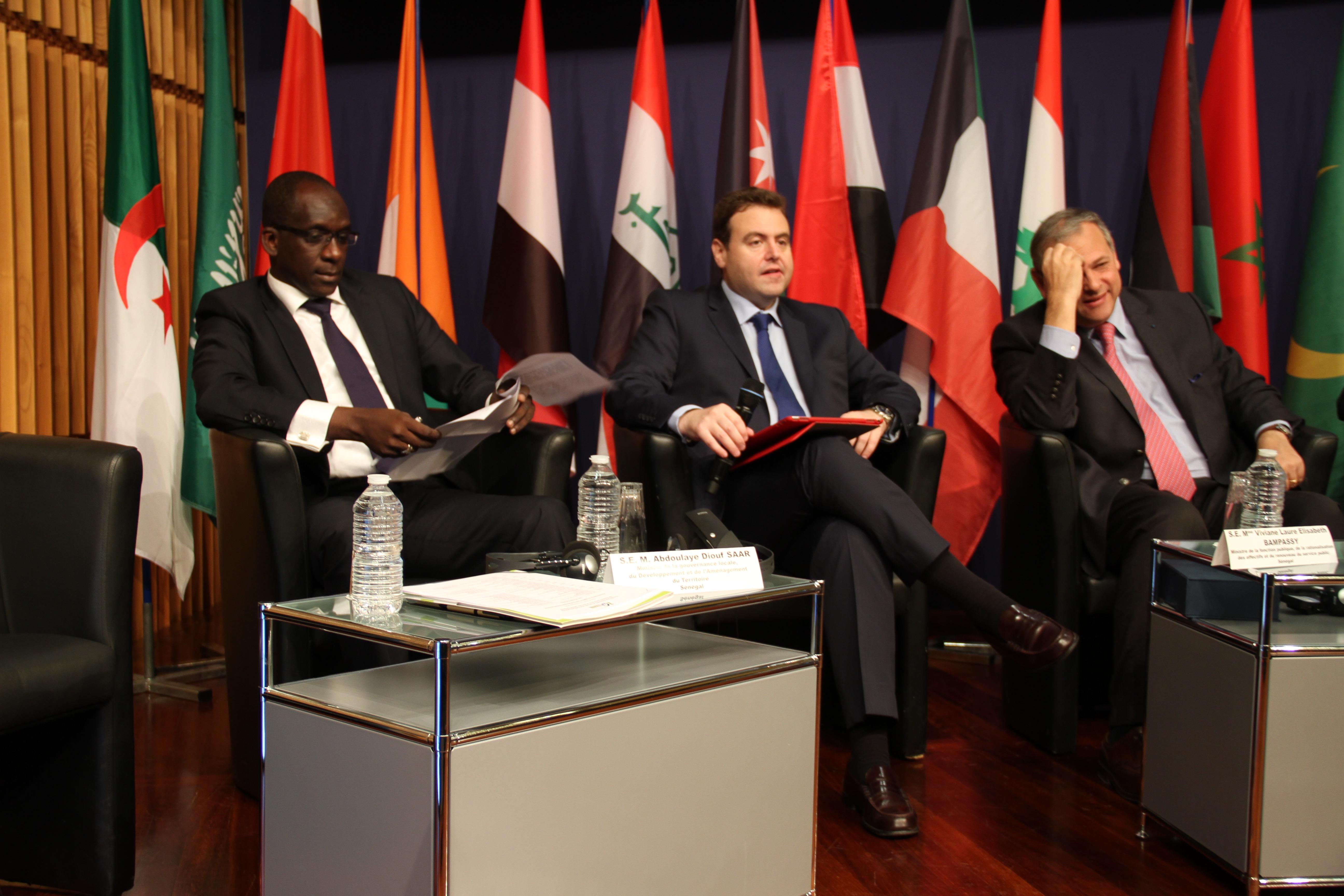 10ème Conférence annuelle GIFT-NEMA : Abdoulaye Diouf SARR plaide pour des « Collectivités territoriales mieux résilientes et performantes »
