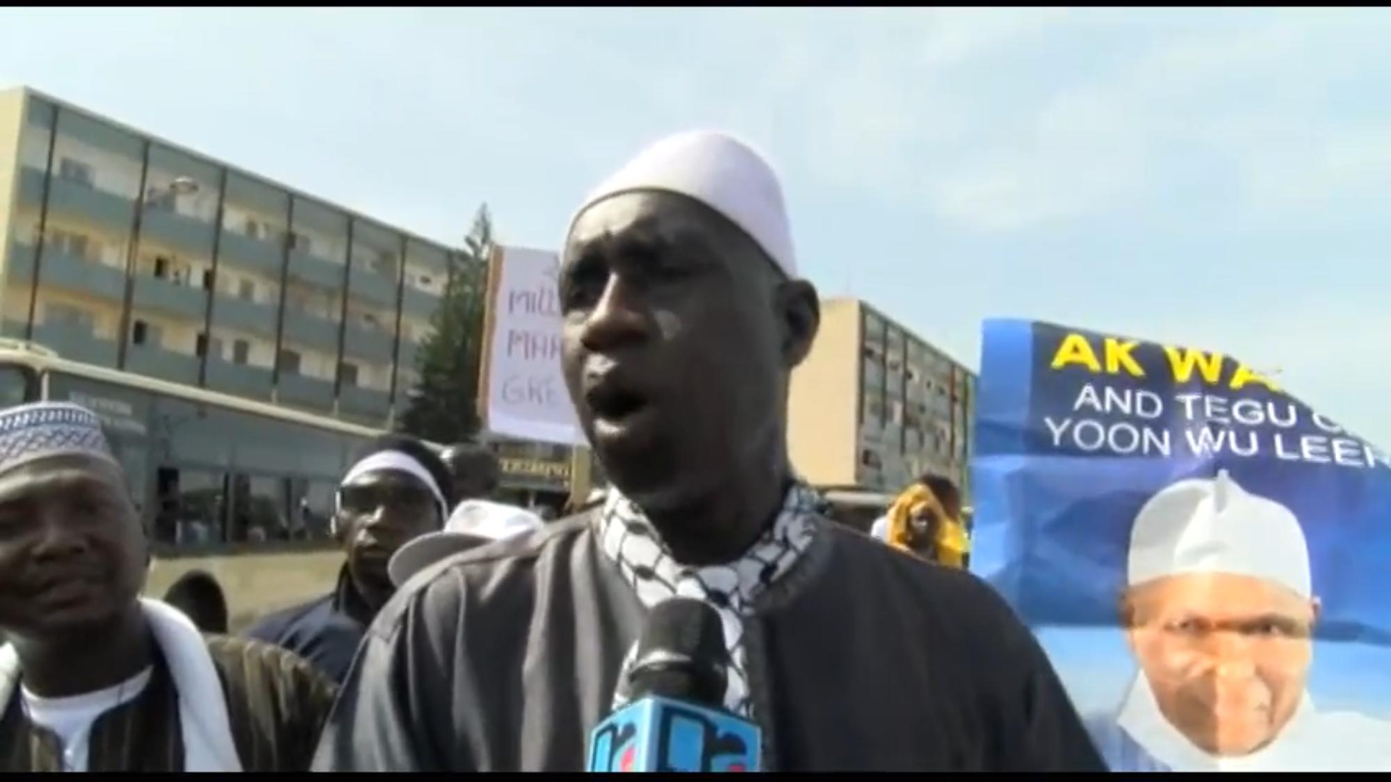 BAMBA NDIAYE : « Nous marchons pour une gestion rigoureuse de nos ressources naturelles! »