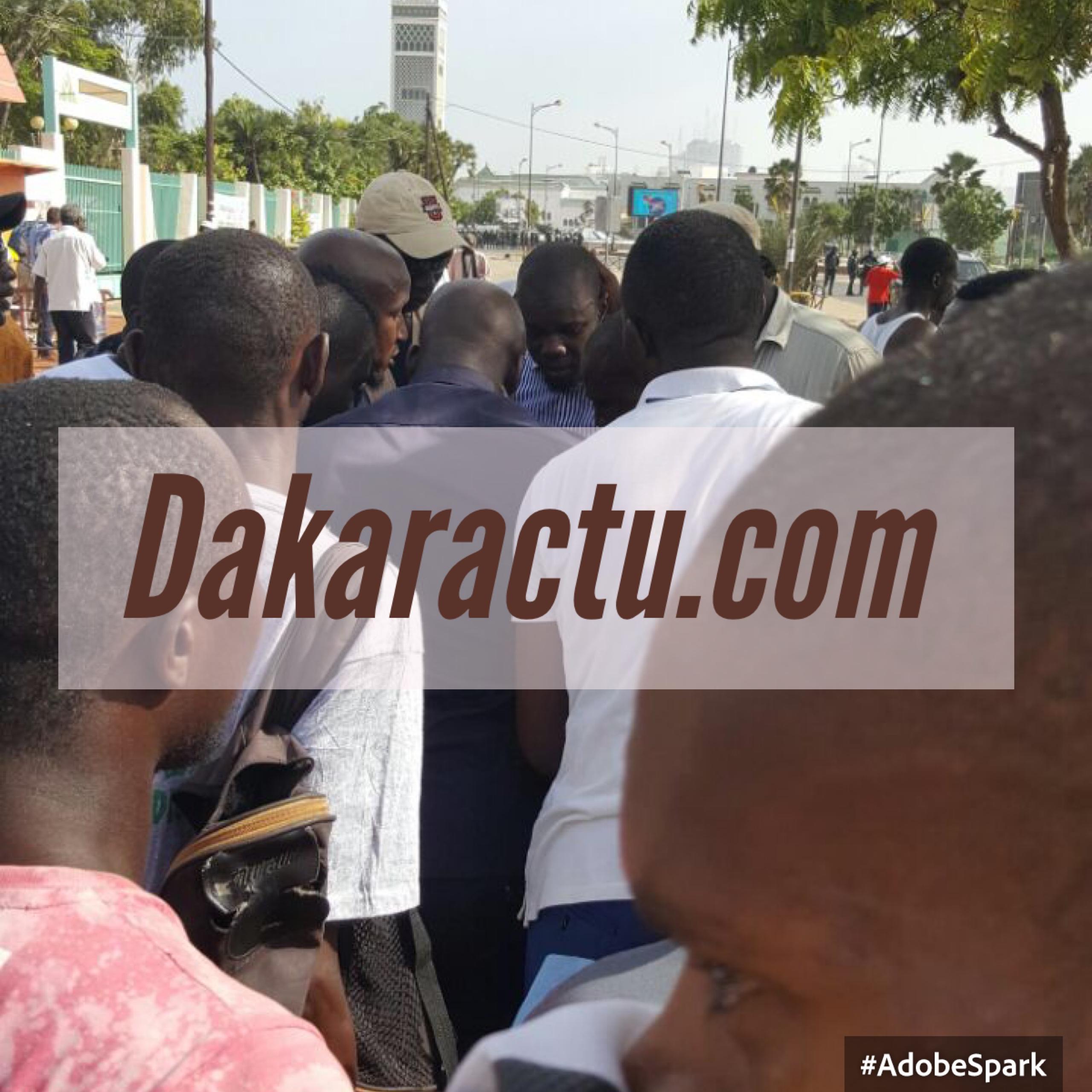 URGENT : Sonko victime d'un éclat de gaz lacrymogène