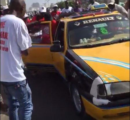 INFO DAKARACTU : Abdoul Mbaye touché à la tête et évacué en taxi